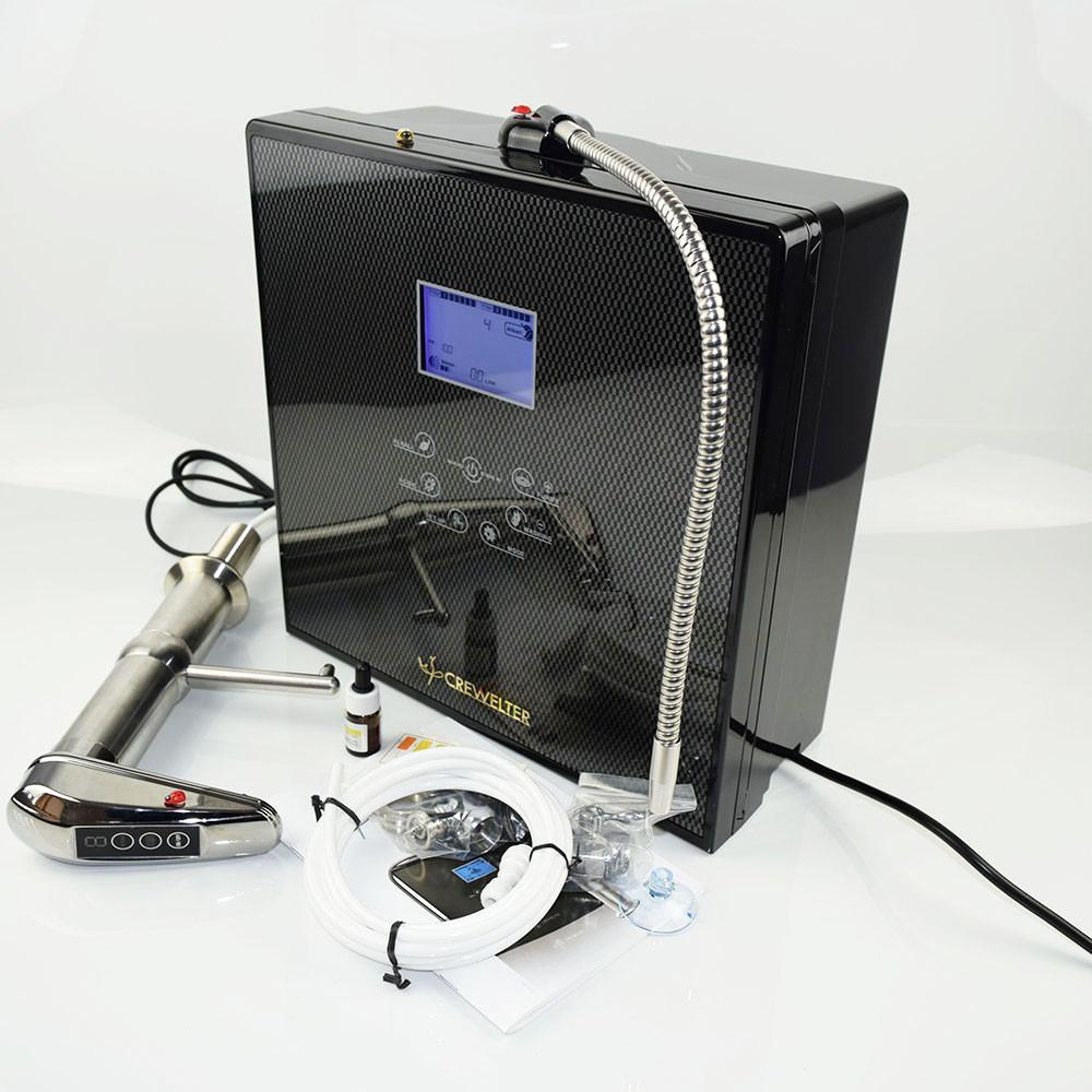 Ionizator apa Crewelter instalare sub chiuveta