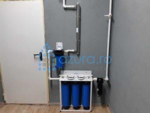 Dedurizator fara sare TAC, declorinare si filtrare mecanica, plus UV in Voluntari, Ilfov